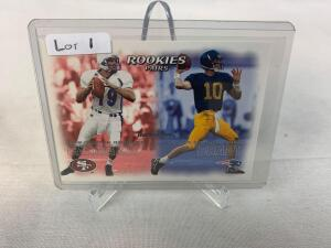 Sports Auction #9 - HOFers, Rookies, Unopened Packs, & More