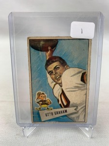 Sports Auction #10- Vintage Football Cards & More