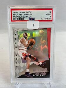 Sports Auction #12 - PSA Graded