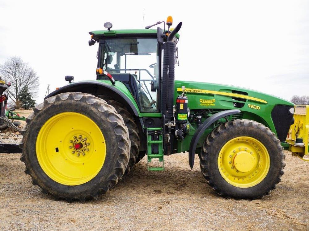2008 John Deere 7830 Tractor, 4320 hrs, C/H/A, 540/1000 PTO, IVT
