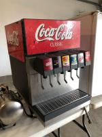 6-flavor soda machine W/pump and Carbon dioxide bottle