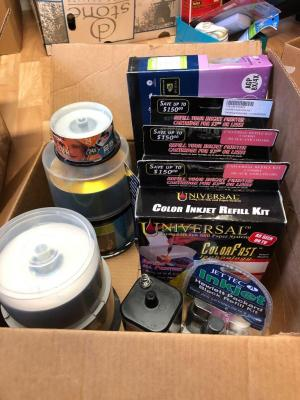 Inkjet refill kits and DVDs