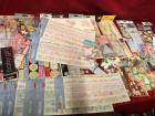 Large lot of assorted stickers and embellishments