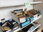 Filters, hooks, doorknobs, Staples, batteries and more