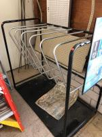 4' x 2' Werner ladder holding rack