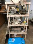 "18"" x 36"" x 72"" plastic shelf unit/hardware, fittings, Challenger tank and more"