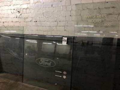 Glass sections, hours stamped, Ford Logo stamped on glass