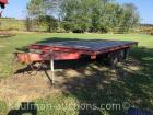 16' triple axle trailer