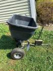 Brinly lawn seeder/spreader pull behind type, slightly used