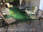 Patio Chairs & 1 End Table