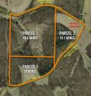 Combination of Parcels 1-3 78.9 acres