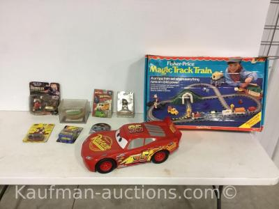 Misc child's toys / includes magic track train
