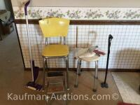 Chair-step stool, Gopher pick up Tool & misc