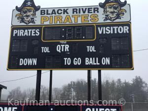Electric scoreboard