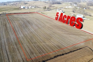 5 Acre Corner Building Lot