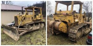 Cat D6C dozer w/winch 145 HP Cat 3306 engine, shows 700 hrs.