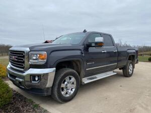 2015 GMC sierra 2500 HD truck, 72,372 miles, long bed crew cab