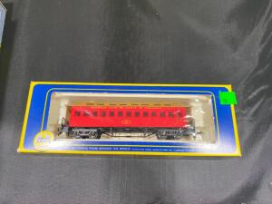 AHM Old-time Coach 6230-D KC and StL HO scale, in original box, plastic is open on box