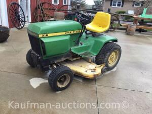 "John Deere 316 Riding Mower w/ 42"" deck"