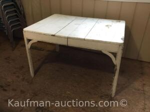 Painted primitive table