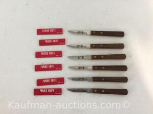 6 Master Mix paring Knives