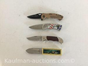 4 Commemorative Knives