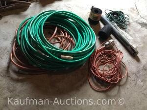 Gutter gaurd, water hoses, electrical cords