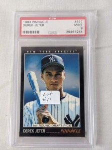 PSA 9 1993 Pinnacle Derek Jeter Rookie
