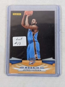 2009/10 Panini James Harden Rookie Card