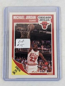 1989/90 Fleer Michael Jordan Card