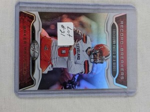 2019 Certified Baker Mayfield Insert Card