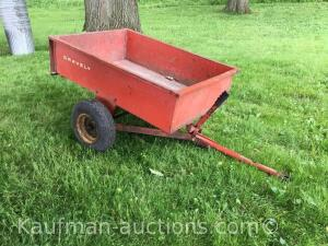 Gravely pull behind lawn cart