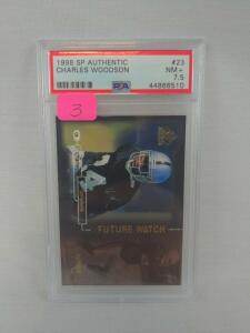 Charles Woodson Rookie SP Authentic, PSA, NM