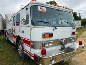 1991 Kovatch Fire truck shows 45,409 miles