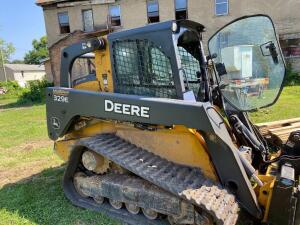 John Deer 329E skid steer, 2705 hours, no attachments included