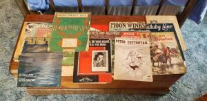 Large Assortment of Vintage sheet music