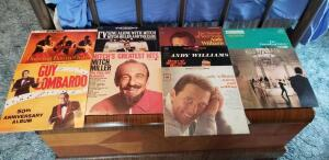 9 33 LPMs includes Mitch Miller, Guy Lombardo, Andy Williams and choir music
