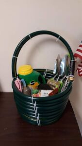 """Hose Basket""  donated by Glenmont St. John's United Church of Christ"