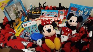"""Mickey Mouse's Birthday Celebration"" donated by St. John's Church, Millersburg"