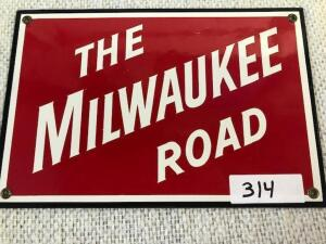 Sign - The Milwaukee Road