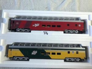Union Pacific Heritage Series -Passenger Cars