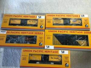 Union Pacific Heritage Series Cars