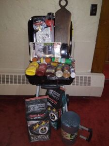 """Barbeque Grill Basket"" donated by Millersburg Christian Church"