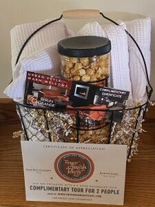 """Get-Away Basket"" donated by Abundant Life Church"