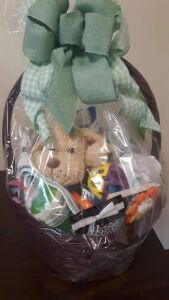 """New Moms Basket"" donated by Morehead Mennonite Church"