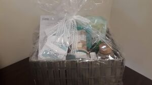 """Spa Basket"" donated by Nashville Church of Christ"