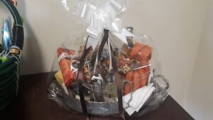 """Coffee Basket"" donated by Berlin Mennonite Church"