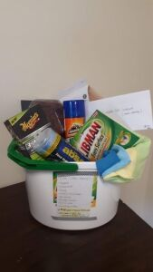 """Car Care Basket"" donated by Providence Church"