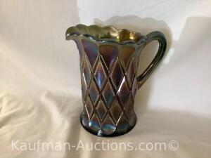 Millersburg Diamond pitcher- green