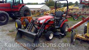 Yanmar 221 with YL110 loader and mower deck